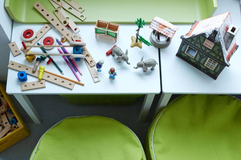 GrunerGruner Kinderecke im Wartezimmer