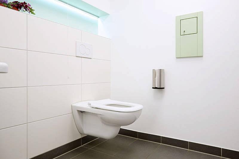 Barrierefreie Toilette