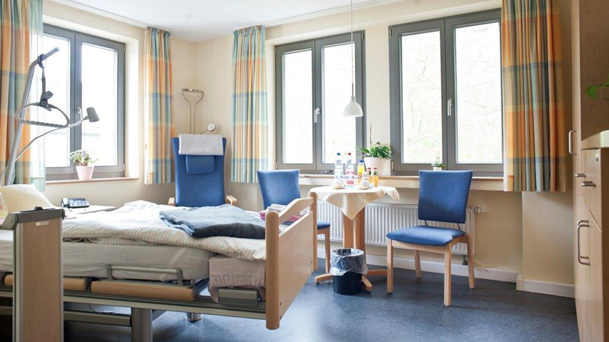 Hospiz Zimmer