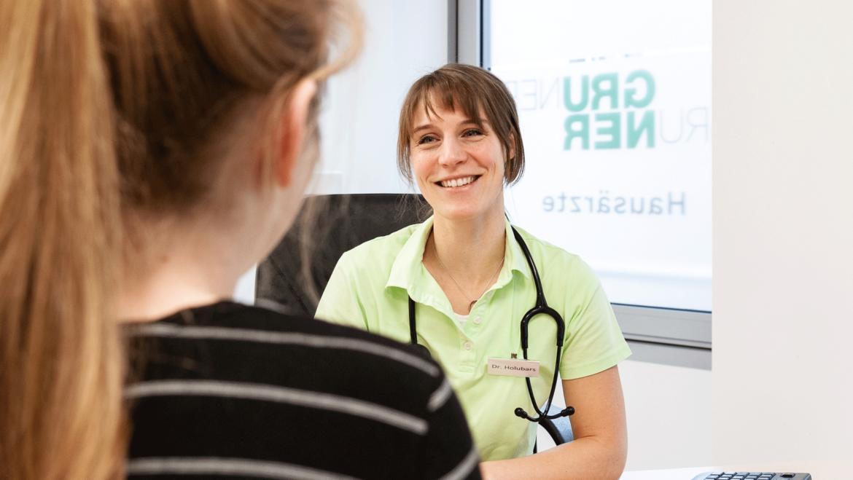 Frau Dr. med. Holubars verstärkt unser Ärzte-Team